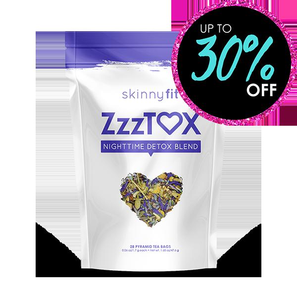 SkinnyFit ZzzTox Nighttime Detox Tea