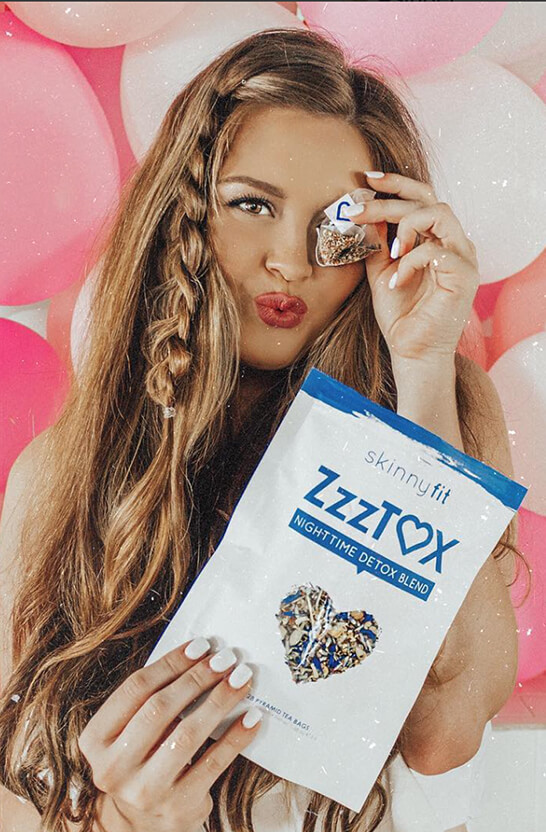 SkinnyFit ZzzTox tea that helps you sleep
