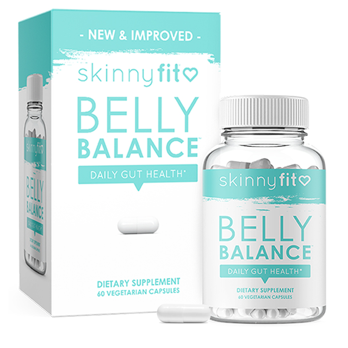 SkinnyFit belly balance packaging