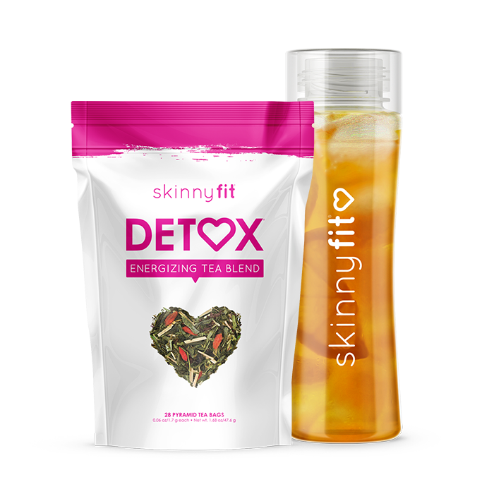 SkinnyFit Detox and water bottle bundle