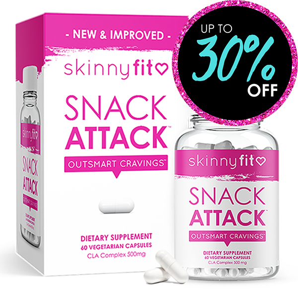 Appetite control SkinnyFit snack attack package