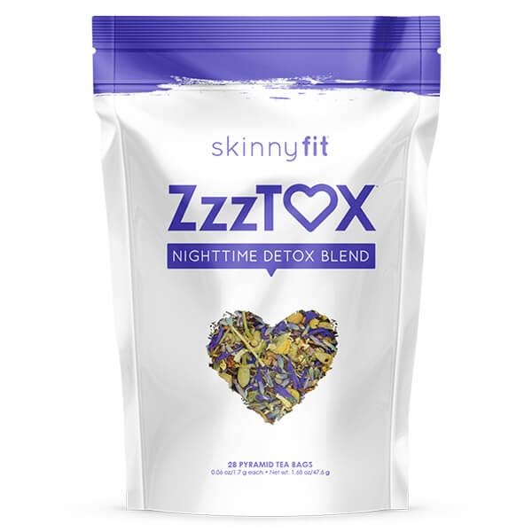 ZzzTox best selling night detox tea package