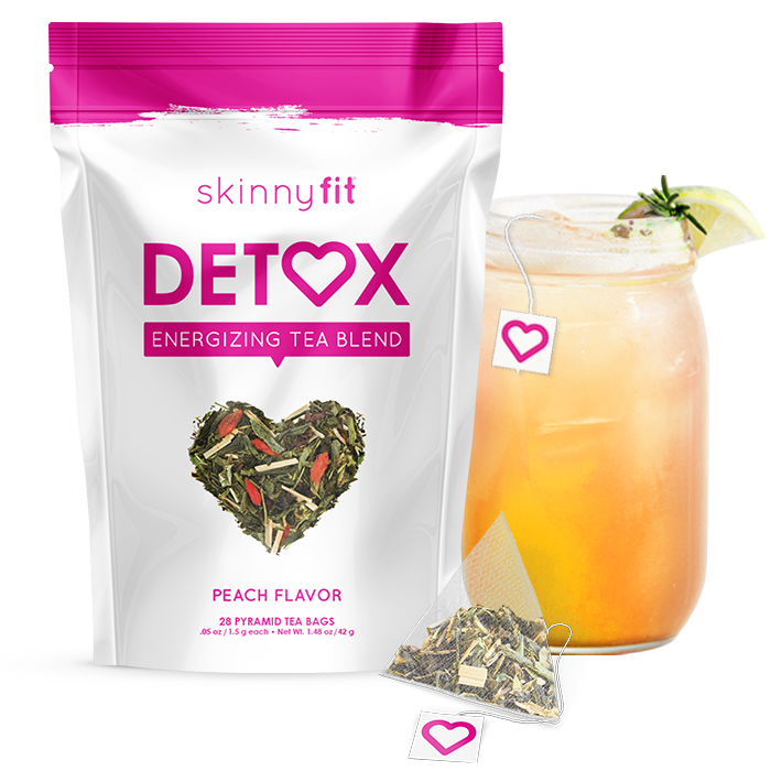 SkinnyFit best selling detox tea package.