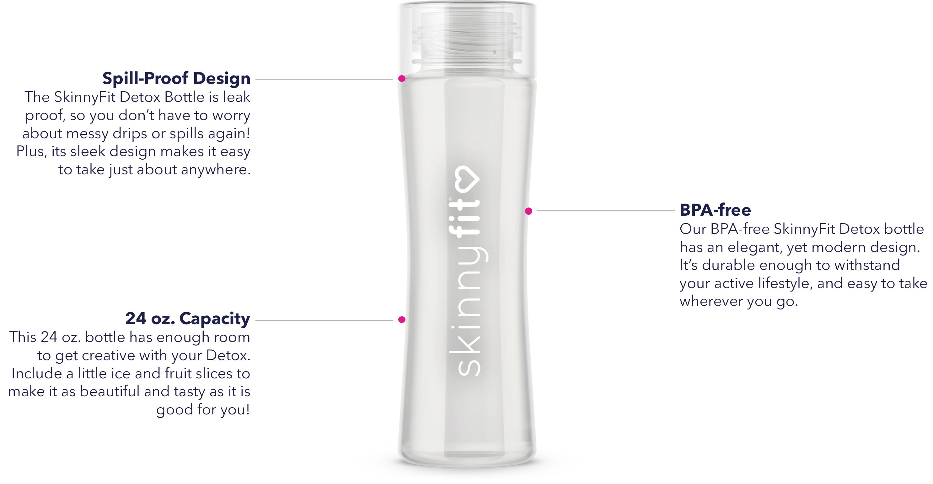 SkinnyFit Detox Bottle details